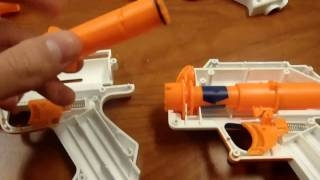 Mod Turorial for Nerf Star Wars Blasters (Grievous, Cad Bane, and Rex) бластеры нёрф пистолеты война бластеры нерф видео бластеры нёрф война