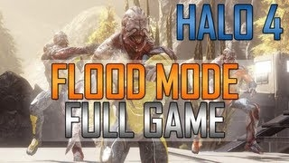 Halo 4 News - Halo 4 Flood Mode - Full Gameplay on Complex!