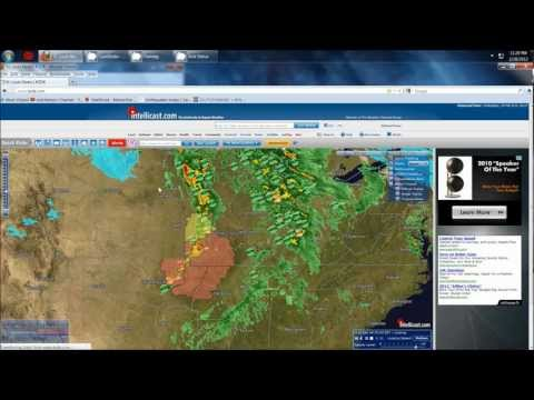 2/28/2012 -- MASS CASUALTIES being reported - LARGE tornado in Missouri - Illinois NEXT